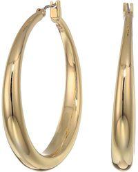 Lauren by Ralph Lauren - Graduated Hoop Earrings - Lyst