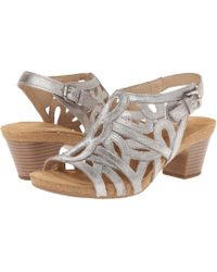 Josef Seibel - Ruth 03 (cristal Antik Metallic) Women's Dress Sandals - Lyst