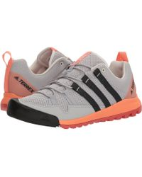 adidas Originals - Terrex Solo (grey Two/carbon/chalk Coral) Women's Shoes - Lyst