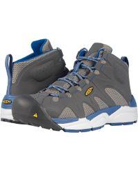 Keen Utility - San Antonio Aluminum Toe (black/silver) Men's Work Boots - Lyst