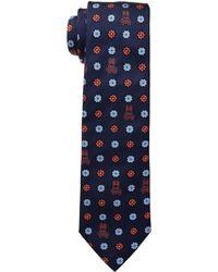 Psycho Bunny - Bunny Flower Tie (navy) Ties - Lyst