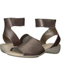 The Flexx - Beglad (black Vacchetta) Women's Sandals - Lyst