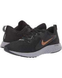 Nike - Legend React (newsprint/royal Pulse/black/light Silver) Women's Running Shoes - Lyst
