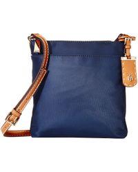 d3dab833 Tommy Hilfiger - Julia Crossbody (navy) Cross Body Handbags - Lyst