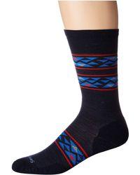 Smartwool - Lincoln Trail Crew (black) Men's Crew Cut Socks Shoes - Lyst