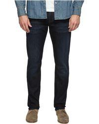 Mavi Jeans - Marcus Regular Rise Slim Straight Leg In Rinse Brushed Williamsburg (rinse Brushed Williamsburg) Men's Jeans - Lyst