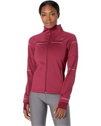 Asics - Lite-showtm Winter Jacket (cordovan) Women's Coat - Lyst