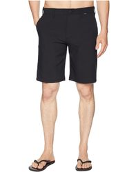 Hurley - Dri-fit Cutback Walkshorts (black) Men's Shorts - Lyst