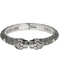 Gucci - Vintage Tiger Bracelet 20 - Lyst