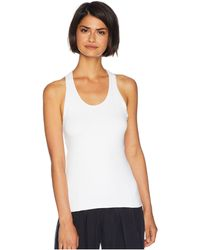 Free People - No Frills Seamless Tank Top (white) Women's Clothing - Lyst