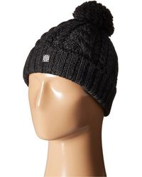 Smartwool - Ski Town Hat (charcoal Heather) Beanies - Lyst