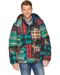 Polo Ralph Lauren - Hawthorne Jacket (patchwork) Men s Coat - Lyst c709ee15a7a
