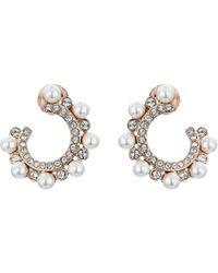 Swarovski - Major Pierced Earrings (white) Earring - Lyst