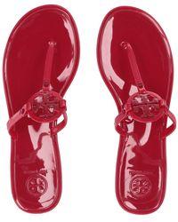 21511a2b9 Tory Burch - Mini Miller Flat Thong (black 1) Women s Sandals - Lyst