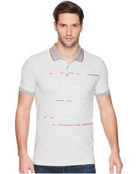 BOSS Green - Paule 6 10191500 01 (grey) Men's Short Sleeve Knit - Lyst