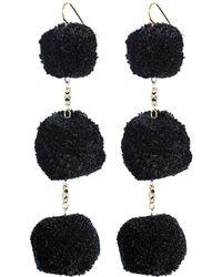 Vanessa Mooney - The Dragnet Pom Poms Earrings - Lyst