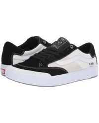 d47e79b0fb8a51 Vans - Berle Pro (black white) Men s Skate Shoes - Lyst