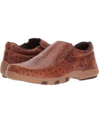 Roper - Owen (brown Caiman Print Leather Upper) Men's Slip On Shoes - Lyst