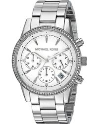 Michael Kors - Mk6428 - Ritz (silver) Watches - Lyst