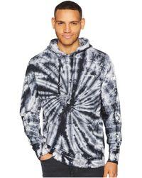 Converse - Star Chevron Lightweight Tie-dye Pullover Hoodie (white Multi) Men's Sweatshirt - Lyst