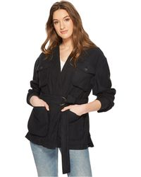 Free People - In Our Nature Jacket (black) Women's Coat - Lyst