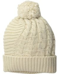 Polo Ralph Lauren - Traveling Cable Hat (hunter Navy) Beanies - Lyst