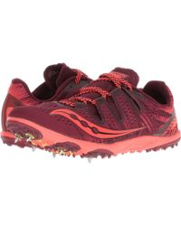 Saucony - Carrera Xc3 (berry/vizi Red) Women's Running Shoes - Lyst