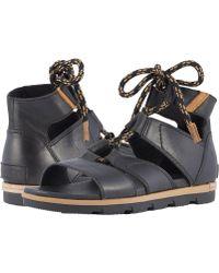 Sorel - Torpeda Lace Ii (camel Brown) Women's Shoes - Lyst