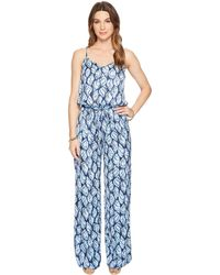 adf4f87a38c283 Lilly Pulitzer Ailsie Jumpsuit in Blue - Lyst