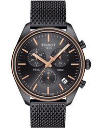 Tissot - Pr 100 Chronograph - T1014172306100 (silver/grey) Watches - Lyst