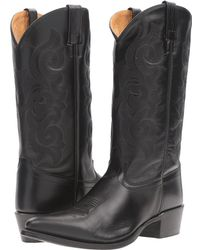 Old West Boots - 5502 (black) Cowboy Boots - Lyst