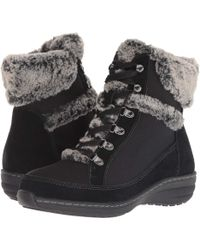 Aetrex - Fiona Faux Fur Lined Boot - Lyst