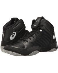 12774d92a45f94 Asics - Jb Elite Iii (black white) Men s Wrestling Shoes - Lyst