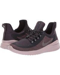 773532ad8be6 Nike - Renew Rival Shield (black metallic Silver cool Grey) Women s Running