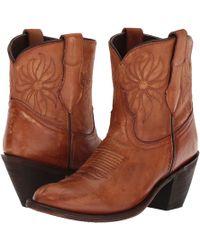 Dingo - Delilah (tan) Cowboy Boots - Lyst