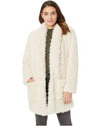 a3cbef53a7c BB Dakota - Fur Mix A Lot Wubby Coat (tan) Women s Coat - Lyst