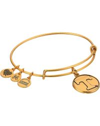 ALEX AND ANI - University Of Tennessee (rafaelian Gold) Bracelet - Lyst