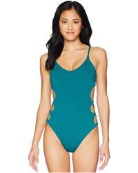 255ff153f93 Billabong - Sol Searcher One-piece (deep Lagoon) Women's Swimsuits One Piece  -