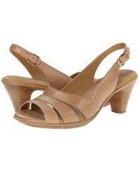 Comfortiva - Neima - Soft Spots (black Patent) Women's Dress Sandals - Lyst