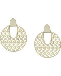 Kendra Scott - Diane Earrings (rhodium/ivory/mother-of-pearl) Earring - Lyst