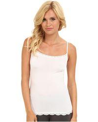 Jockey - Tactel(r) Lace Cami (white) Women's Underwear - Lyst