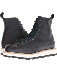 Converse - Chuck Taylor Crafted Boot - Hi (black/light Fawn/black) Men's Lace-up Boots - Lyst