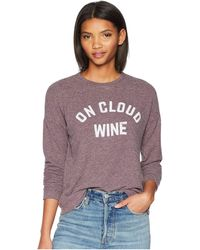 The Original Retro Brand - On Cloud Wine Super Soft Haaci Pullover (dark Maroon) Women's Clothing - Lyst