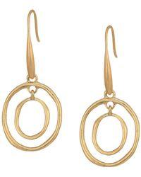 The Sak | Mini Metal Orbit Earrings | Lyst