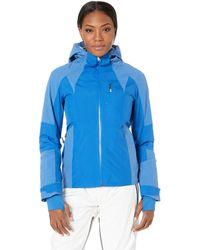 Spyder - Inna Jacket (blue Ice/turkish Sea) Women's Coat - Lyst