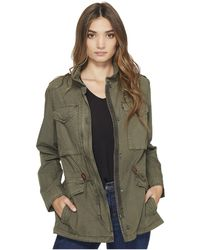Levi's - Levi's(r) Four-pocket Utility Jacket (light Green) Women's Coat - Lyst