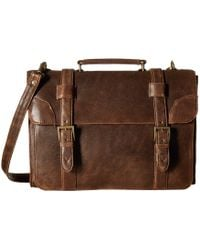 Scully - Squadron Satchel Briefcase - Lyst