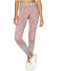 adidas By Stella McCartney - Yoga Seamless Tights Cg1948 (chalk Solid Grey/white/dark Callisto) Women's Casual Pants - Lyst
