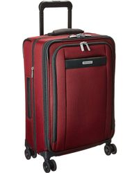 Briggs & Riley - Transcend Vx Tall Carry-on Zip Expandable Spinner (merlot Red) Luggage - Lyst