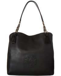Tory Burch - Harper Tote (black) Tote Handbags - Lyst